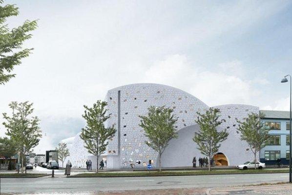 مسجدی مدرن در شهر کپنهاک تأسیس میشود