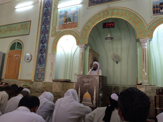 مولانا ساداتی: آرامش و سعادت دنیا و آخرت بدون دینداری حاصل نمی شود.