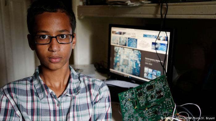 دلجویی اوباما ازمخترع نوجوان مسلمان و دعوت وی به کاخ سفید