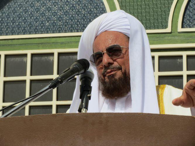 ساداتی - مولانا ساداتی : منتخبین مردم مسئولیتی ملی ، فراقومی و فرامذهبی دارند