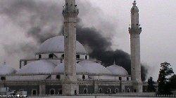 147952659400 thumb2 - لغو نماز جمعه برای اولین بار در حمص سوریه از احتمال حملات هوایی روسیه