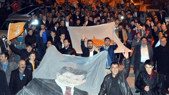 حزب عدالت و توسعه موفق به کسب اکثریت مطلق آرا در انتخابات پارلمانی ترکیه شد