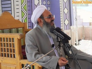 molana - مولانا عبدالحمید :مردم و نمایندگان باید نگاه ملی داشته باشند