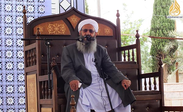 molana 27 1 95 1 - مولانا عبدالحمید:توجه به انتظارات جامعه اهلسنت به روند وحدت و اخوت اسلامی کمک میکند