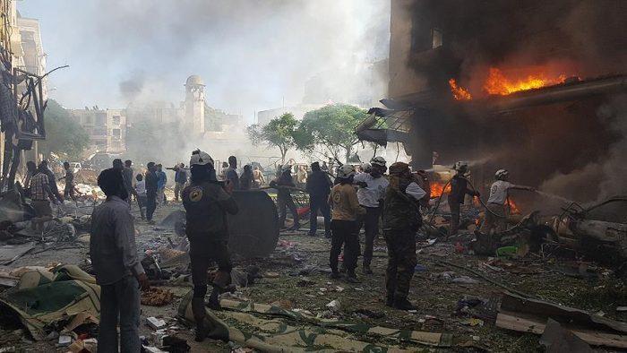 thumbs b c 8512a35d8f6d1e471be023f8e5603d17 - ۳۷ غیرنظامی در حملات هوایی روسیه در ادلب سوریه کشته و زخمی شدند