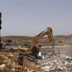هزاران فلسطینی در اعتراض به تخریب منازل شان تظاهرات کردند