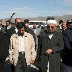 پیام تسلیت مولانا ساداتی به دکتر محمود احمدی نژاد