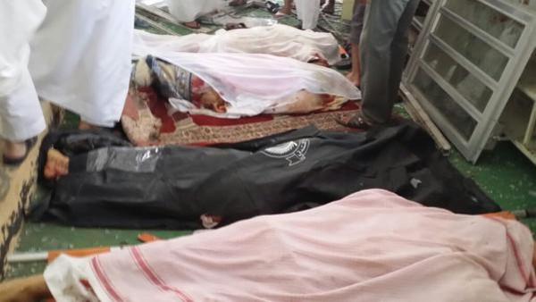 973f73f9 d287 4d8a 9cbd 72bdf0a69401 16x9 600x338 - داعش مسئولیت حمله انتحاری به مسجد سعودی را بر عهده گرفت