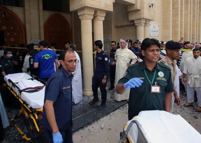 9709b5fa dd32 4ef8 935a 8a7aad293a91 - ۲۷کشته در انفجار مسجد شیعیان در کویت توسط داعش