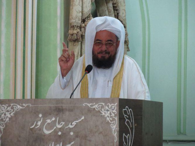 molana sadati - مولانا ساداتی : دولتمردان می توانند با عملکرد خویش نقش مفید و موثری در تعمیق بخشیدن و عملی ساختن وحدت ایفا نمایند