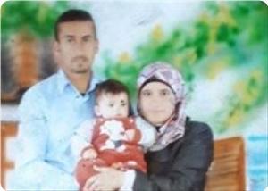 DataFiles Cache TempImgs 2015 2 News 1394 shahrivar thumbCA02QW97 300 0 - مادر فلسطینی به همسر و کودک شهیدش پیوست