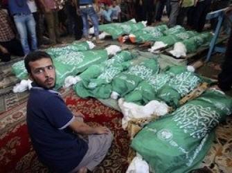 n00096035 t - آمار شهدای فلسطینی در اثر حملات اسرائیل به ۲۴ نفر افزایش یافت