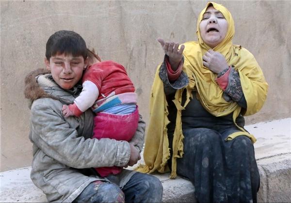 مردم سوریه - صدها هزار مسلمان در سوریه بر اثر گرسنگی و سرما در خطر فاجعه انسانی قرار دارند