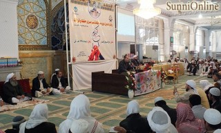qeraat 1394 320x193 - پانزدهمین دورۀ مسابقات سراسری قرآن کریم ویژۀ مدارس دینی اهلسنت ایران برگزار شد