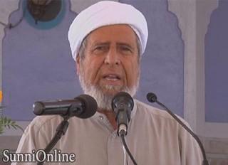 amini 95 320x232 - شیخ امینی:اسلام دینی ربانی و سازگار با فطرت انسانیست