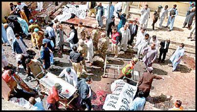 22 - شمار کشته و زخمیهای انفجار بیمارستان کویته پاکستان به بیش از ۲۰۰ تن رسید