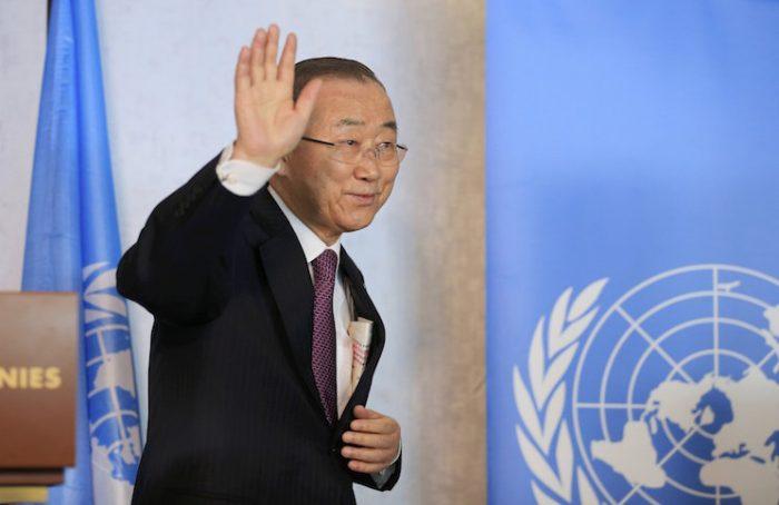 IMG09103 - دبیرکل سازمان ملل  خواستار توقف مشارکت حزب الله در نزاع سوریه شد
