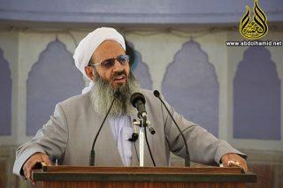 sheikh abdolhamid friday 320x213 1 - مولانا عبدالحمید:ترامپ در «مبارزه با تروریسم» اشتباهات رؤسای جمهور قبلی را تکرار نکند