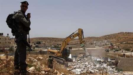 82385475 71323465 - هزاران فلسطینی در اعتراض به تخریب منازل شان تظاهرات کردند