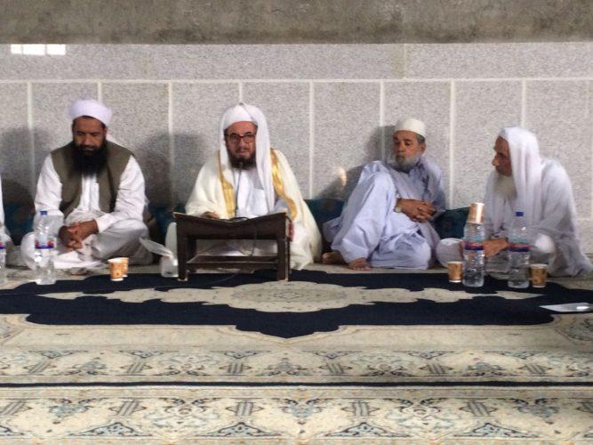 IMG 20180628 WA0011 - مولانا ساداتی : علما و مردم در پیشبرد امور دینی مسئولیت دارند / تقدیر از مشارکت مردم در مناسبتهای دینی